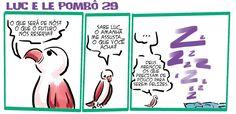 RABISCOS ENQUADRADOS: LUC E LE POMBÔ 29