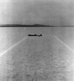 Walter De Maria, Mile Long Drawing, 1968