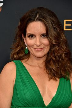 Zoom In on All the Elegant Beauty Looks From the Emmys Red Carpet Tina Fey Tina's luscious, tousled strands gave us serious hair envy.
