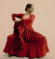 Belén Maya, famous flamenco dancer.