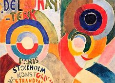 Modernism  Artist: Sonia Delaunay  Style: Orphism  Genre: Abstract painting