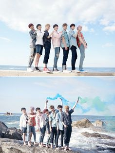 """""""(MELON) Special: A sweet Summer gift from MONSTA X! Source: Melon"""""""