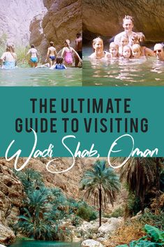A guide to hiking and swimming in Wadi Shab, Oman. Discover the adventure through the keyhole into the gorgeous blue freshwater cave, jump off waterfalls and marvel at Oman's natural beauty. Oman Travel, Dubai Travel, Asia Travel, Eastern Travel, Travel Humor, Funny Travel, Travel With Kids, Family Travel, Cool Places To Visit