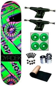 Alien Workshop Rob Dyrdek Anaglyph Hexmark Complete Skateboard by Alien Workshop. $78.99. Save 34% Off!