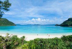 Tokashiku Beach, Tokashiki Island, Okinawa, Japan