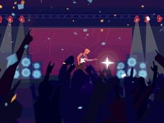 Guitar Rock Party by Yup Nguyen for Red Cat Motion