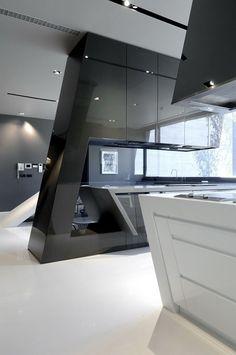 Interior .. Modern kitchen