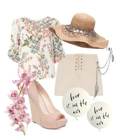 """""""Untitled #63"""" by lidia-mendes1 ❤ liked on Polyvore featuring Billie & Blossom, Jessica Simpson, Bling Jewelry and Kate Spade"""