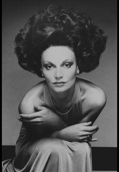 1974 - Diane von Furstenberg Repinned by www.fashion.net