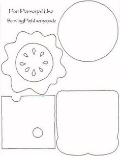 Fun Felt Foods and activities- awesome card to assemble. Fill with verses!