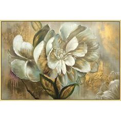 Gold art 2 pieces wall art set of 2 wall art framed painting Abstract paintings On Canvas original ready to hang large wall art home Decor - ***************Descriptions**************** *Title: Gold Flower Painting *Framed:Unframed/Not stret - Acrylic Painting Canvas, Canvas Artwork, Painting Frames, Abstract Paintings, Abstract Art, Art Floral, Flower Canvas, Flower Art, Large Wall Art