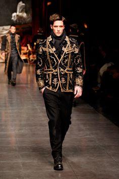 Dolce   Gabbana AW12 Men s catwalk Moda Barocca b7e8764f0df