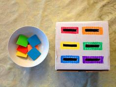 7 play concepts impressed by the Montessori technique! – Thousand Mom Ideas Montessori Toddler, Toddler Learning Activities, Toddler Play, Montessori Activities, Color Activities, Infant Activities, Educational Activities, Kids Learning, Maria Montessori