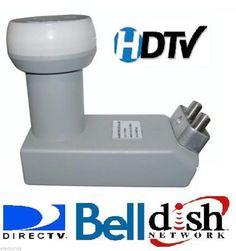 QUAD DPP BELL-EXPRESS DISH NETWORK LNB PRO DP PLUS HD TWIN DishPro PVR SATELLITE