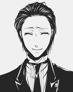 Sebastian Michaelis He looks, like, really good with his hair slicked back <3