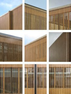 51 Trendy Ideas For Screen Panel Facade Wood Slats Timber Slats, Timber Cladding, Wood Architecture, Architecture Details, Wooden Facade, Building Facade, Facade Design, Exterior, Nassau