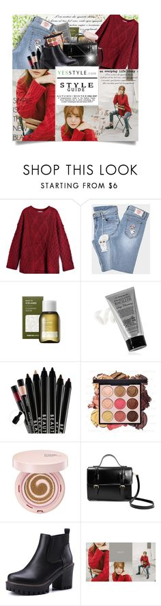 """""""Cyber Monday Sale - YesStyle"""" by gorgeautiful ❤ liked on Polyvore featuring Trilogy and chuu"""