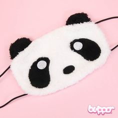 Panda Mouth Mask - Big Kawaii Shop, Kawaii Cute, Japanese Eyes, Panda Nursery, Panda Costumes, Panda Images, Daddys Lil Monster, Panda Love, Mouth Mask