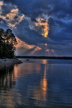 ~~Lake Thurmond Sunset ~ Clarks Hill, South Carolina by Steve'53~~