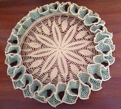 Crochet Ruffled doily