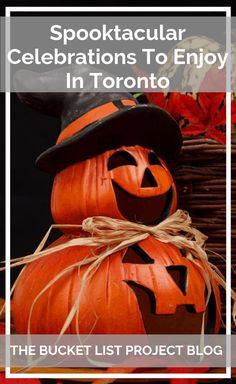 Halloween's always a fun time & people love celebrating with great festivals. But Toronto, has some outstanding Halloween Celebrations! Discover the best Spooktakular celebrations in Toronto that need to be on your Bucketlist! #Halloween #HalloweenInToronto #VisitToronto #SpooktakularCelebrations #HappyHalloween #VisitCanada #FallFestivals #FallFestivalsInToronto #HalloweenCelebrationsInToronto