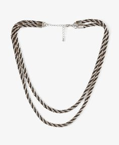 Twisted Chain Necklace - FOREVER 21
