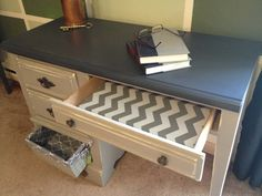 Cool treatment for inside the drawer!