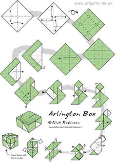 origami module instructions - Google Search