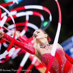 Group Azerbaijan, Thiais 2015 Rhythmic Gymnastics, Ribbons, Group, Bias Tape