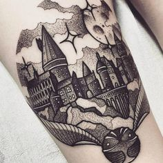 These Harry Potter Tattoos Will Make You Fly Straight To The Parlor | more.com