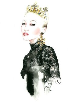 Dolce & Gabbana F/W 2013 by Antonio Soares Swide.Archives: Dolce & Gabbana F/W 2013 Illustration Project (Part 3)
