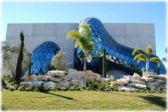 The new Dali Museum in downtown St. Petersburg, Florida