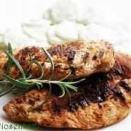 Kurczak z grilla w jogurtowej  marynacie Bbq Grill, Grilling, Pork, Chicken, Recipes, Women, Diet, Bar Grill, Kale Stir Fry