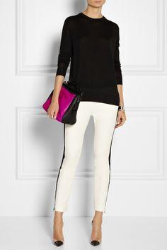 proenza schouler top; tibi 'anson' pant; gianvito rossi heels; 3.1 phillip lim handbag.