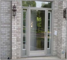 Enjoy the outside, without letting the outside in! A screen door to complement your entry door will accomplish exactly that!