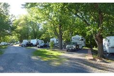 At Staunton / Walnut Hills KOA, wide RV sites, both pull-through and back-in, offer sewer and 50 amp options, not to mention great shade!