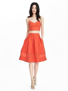 Timo Weiland Collection Coral Full Skirt Product Image