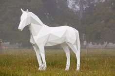 Geometric Animal Sculptures by Ben Foster | 123 Inspiration