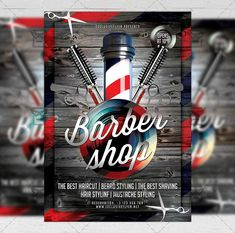 barber shop flyer business template exclsiveflyer free and Free Flyer Templates, Free Business Card Templates, Gentlemens Club, Barber Sign, Popular Mens Hairstyles, Mustache Styles, Best Barber, Shops, Cool Haircuts