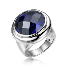 Elle Galaxy, Tanzanite CZ Ring