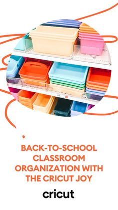 Learn to create DIY dry erase boards, book bins, and folders for the back to school season! For these projects, you'll need: - Cricut Joy machine - Cricut Joy Starter Tool Set - Cricut Joy Smart Vinyl (Permanent) - Cricut Joy Transfer Tape - XL Scraper tool - Dry erase boards - Book bins or plastic tubs - Clear vinyl folders Find the full how-to on our blog! School Classroom, Classroom Themes, Classroom Organization, Teacher Hacks, Teacher Gifts, Book Bins, Educational Crafts, School Items, Back To School Supplies