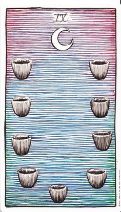 Tarot of the Wild Unknown - Nine of Cups (the wish card)