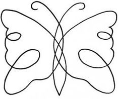 butterfly quilting motif - might be good for the border of my grandmother quilt Colchas Quilting, Machine Quilting Patterns, Quilting Stencils, Quilting Templates, Quilt Stitching, Free Motion Quilting, Quilting Tutorials, Quilting Projects, Embroidery Patterns