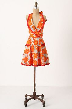 Just recently purchased this adorable $20 apron from Athropologie. I can not wait to get this in the mail !!