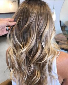 Natural blonde balayage hair color trends you need to try today . - Natural blonde balayage hair color trends you need to try today … - Natural Blonde Balayage, Ombre Hair Color, Hair Color Balayage, Cool Hair Color, Natural Looking Highlights, Natural Blonde Hair With Highlights, Natural Ombre Hair, Long Ombre Hair, Bronde Balayage