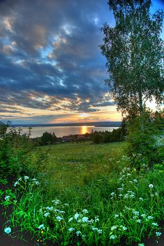 Lake Siljan, Evening in Sweden by Torsten Muehlbacher | Flickr - Photo Sharing!