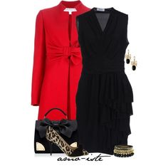 """""""Ruffles and Bows"""" by amo-iste on Polyvore"""