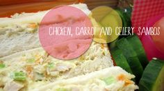 Chicken, carrot and celery sandwich #mumsintheknow