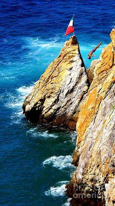 La Quebrada, Acapulco, Guerrero, Mexico.