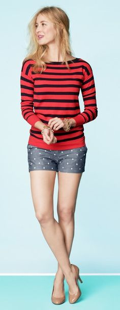 J Crew Inspiration for @Kelli Bravo and her anchor shorts!